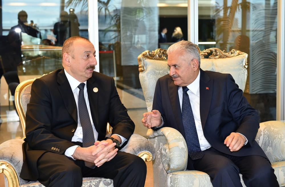 Ilham Aliyev meets heads of state, gov't of countries at 22nd World Petroleum Congress (PHOTO, UPDATE)