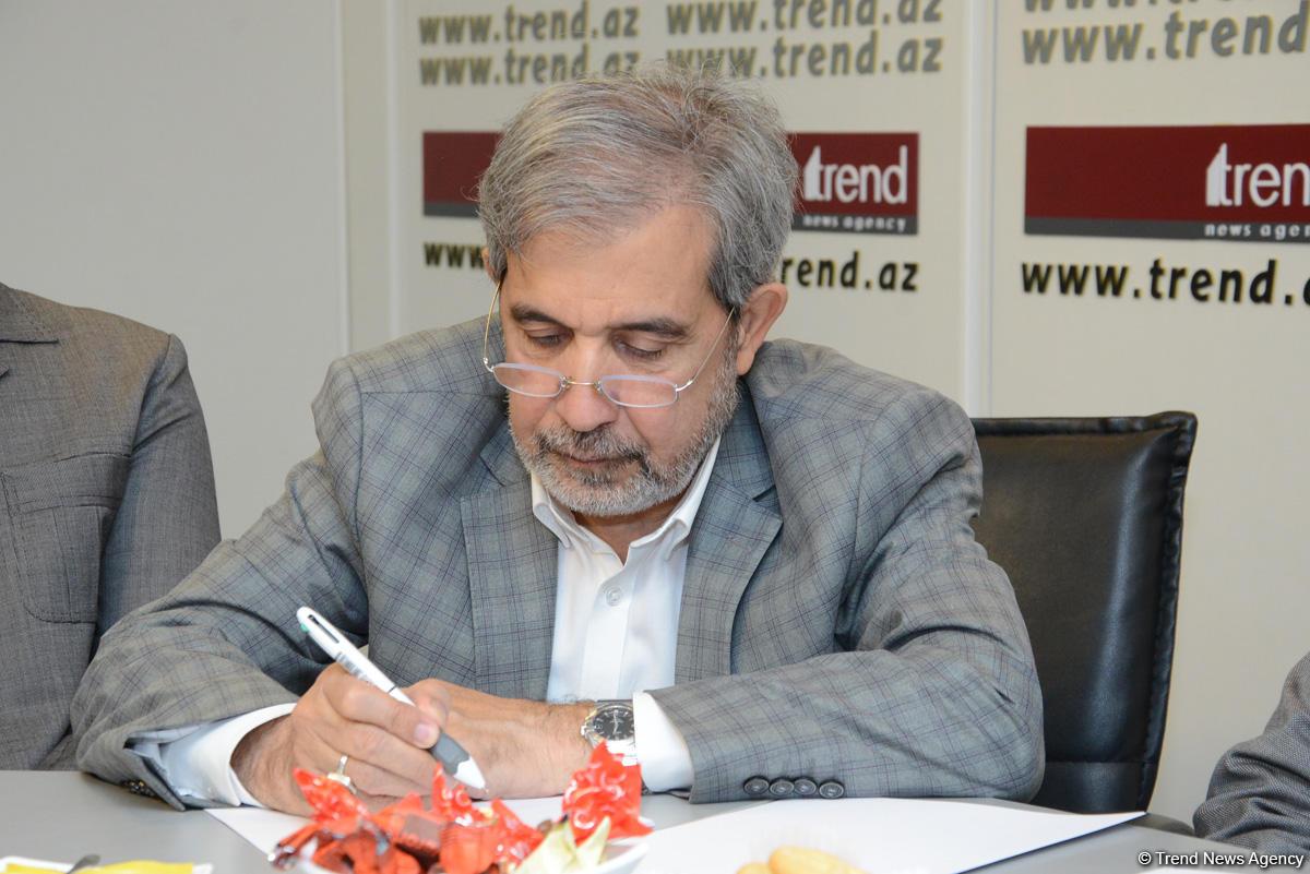 АМИ Trend посетили представители масс-медиа Ирана   (ФОТО)