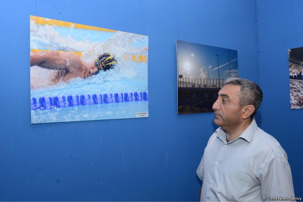 Фотограф АМИ Trend признан одним из лучших среди освещавших Исламиаду Баку-2017 (ФОТО)