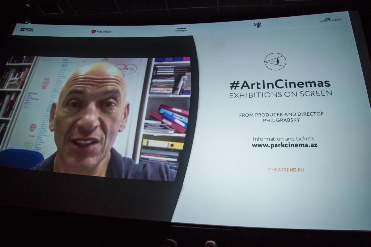Məhşur sərgilər ilk dəfə böyük ekranda Park Cinemada (FOTO/VİDEO)