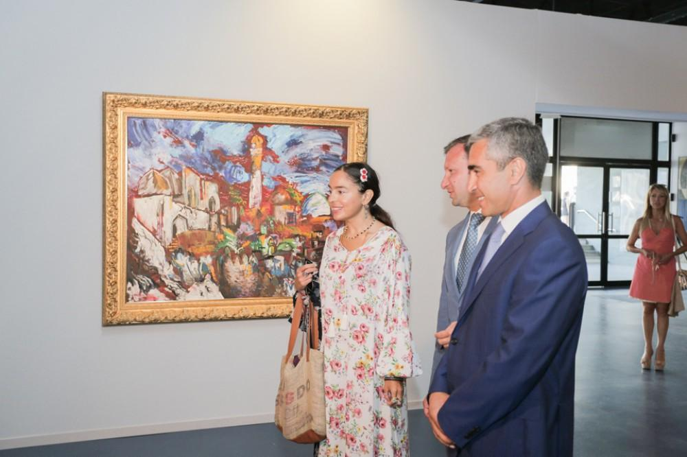 Leyla Aliyeva attends opening of Days of Azerbaijani Culture in Cannes (PHOTO)