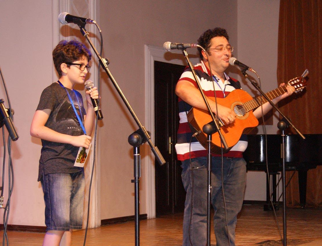 Азербайджан объединяет народы во имя добрых дел - фестиваль авторской песни и поэзии (ФОТО)