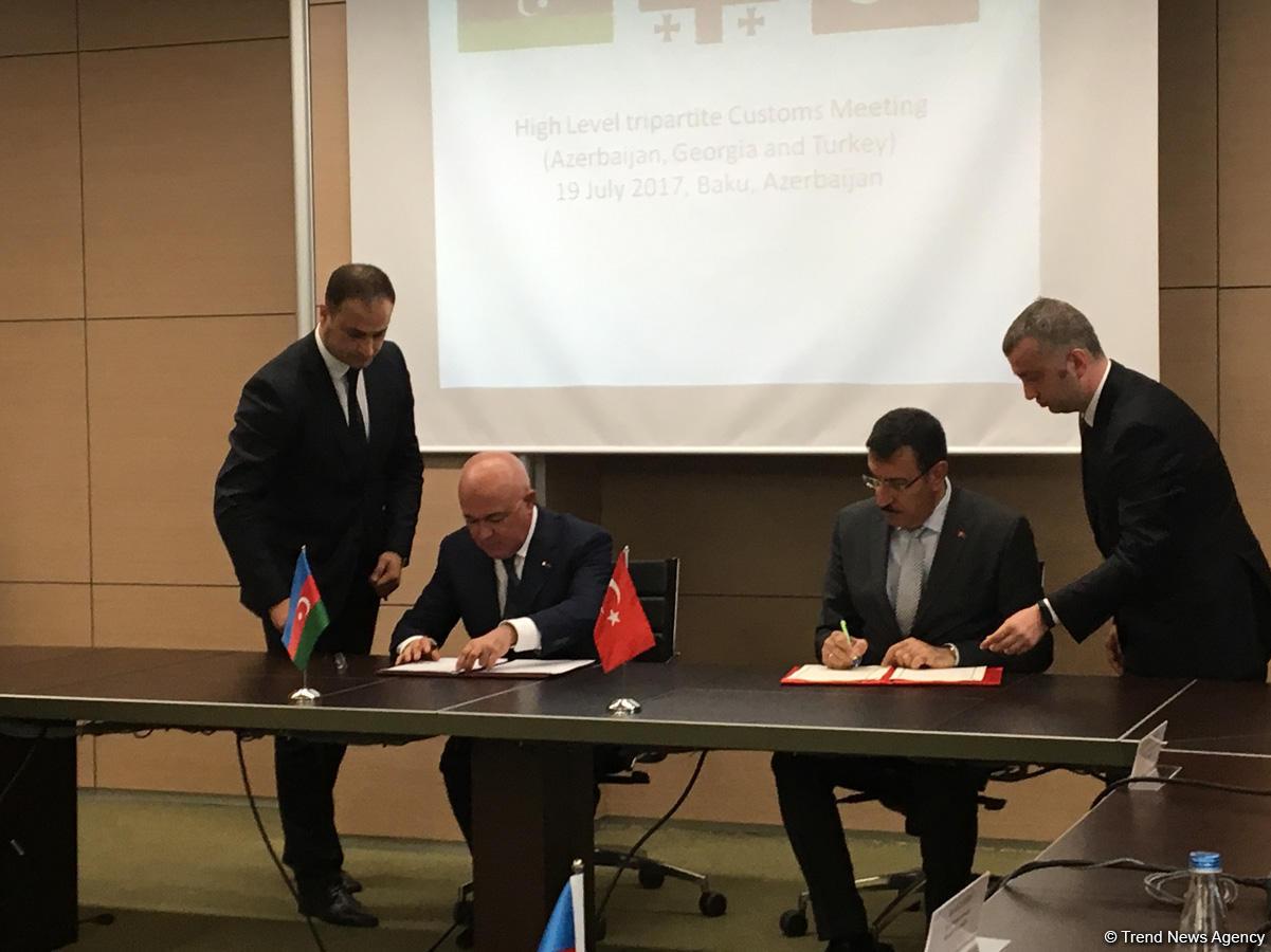 Azerbaijan, Georgia, Turkey doing great job for Silk Road development (PHOTO)