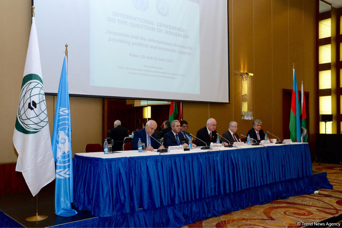 Azerbaijani ambassador on speedy restoration of peace in Jerusalem  (PHOTO)