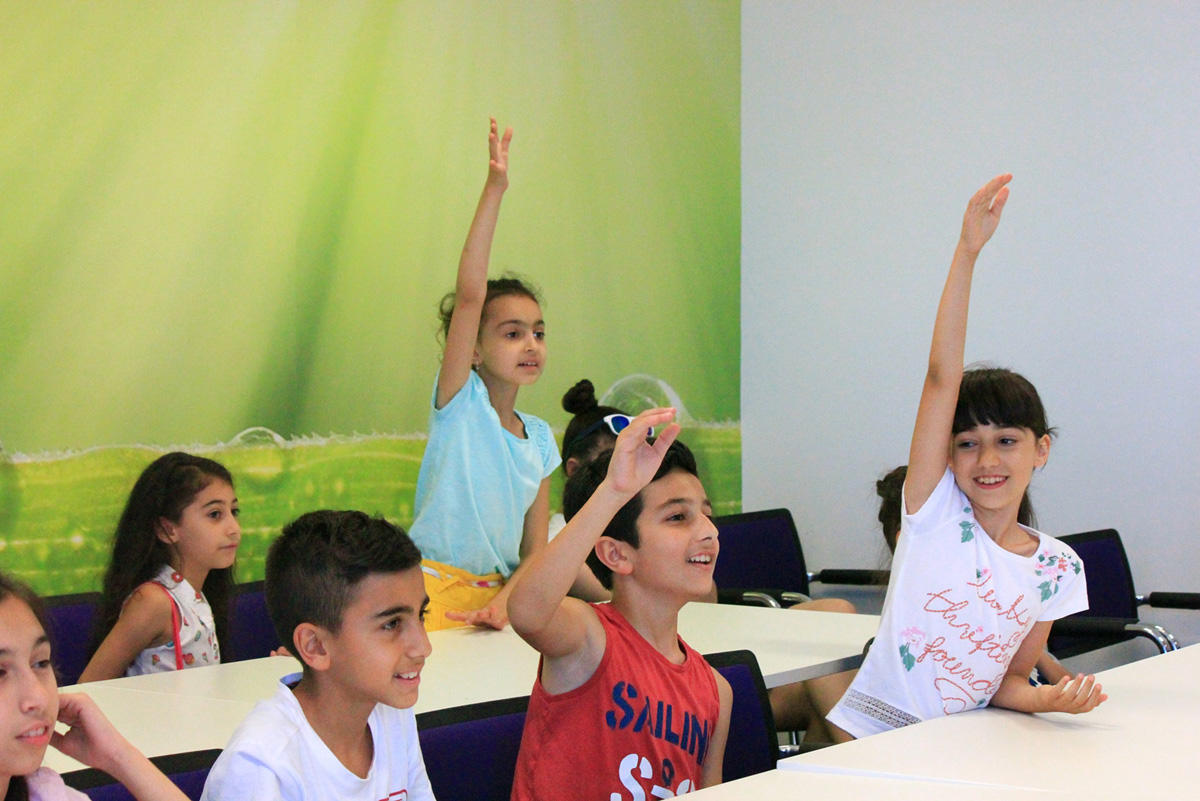 """Azercell starts """"Coding Kids – Summer IT School"""" free project (PHOTO)"""