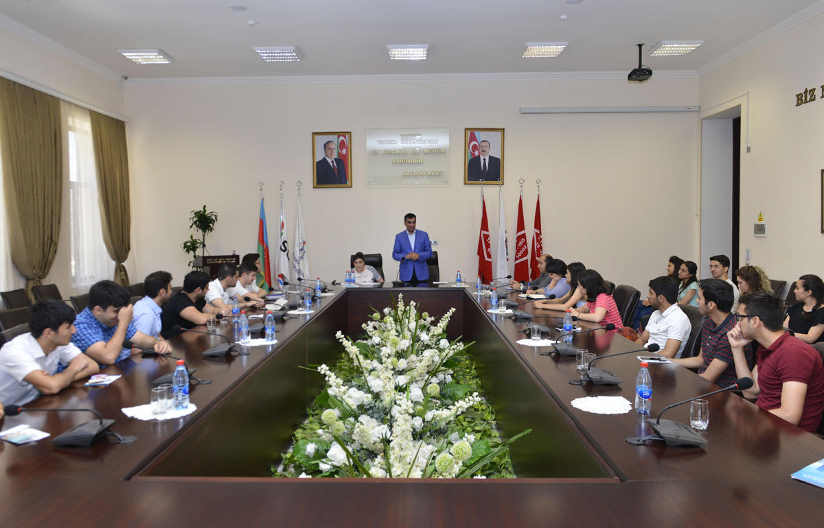 Meeting held with 25 BHOS graduates going to work at STAR refinery, Petkim (PHOTO)