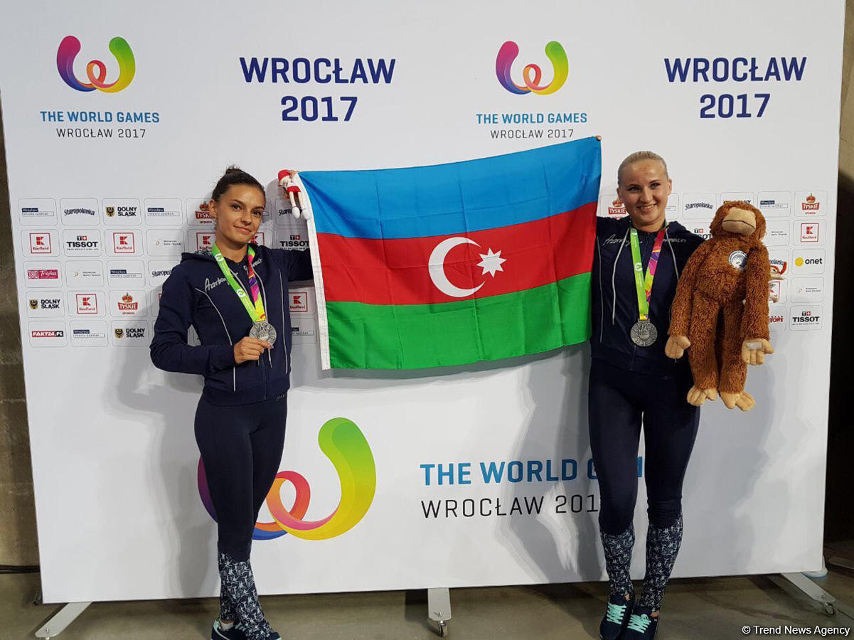 Azerbaijani gymnasts grab silver medal of 2017 World Games (PHOTO)