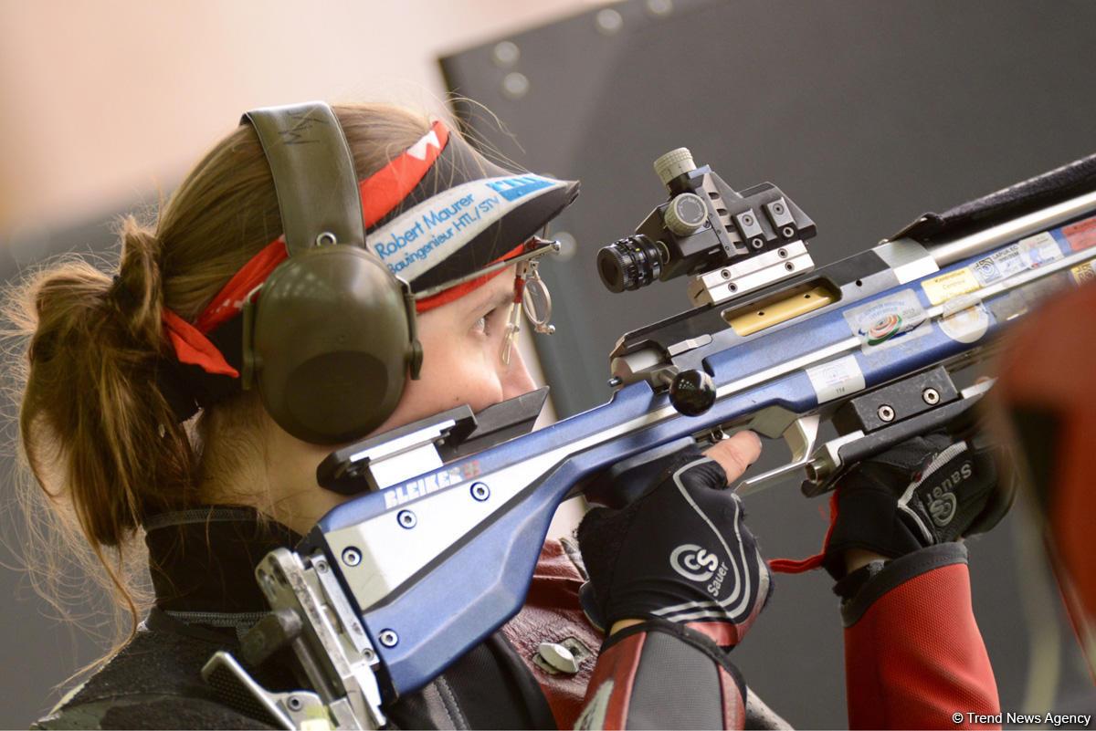 Seven Azerbaijani athletes join European Shooting Championship (PHOTO)