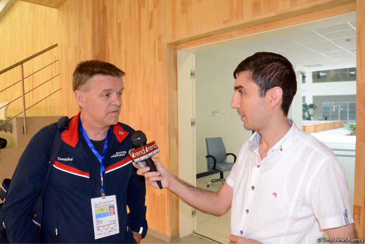 Azerbaijan holds int'l events at high level, says athlete (PHOTO)