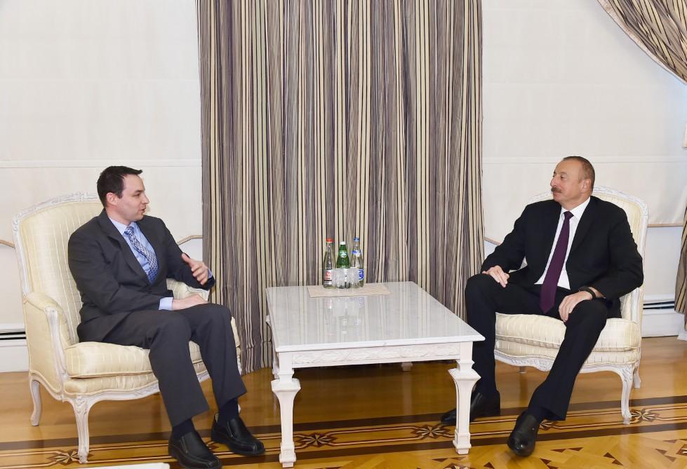 Ilham Aliyev hails Azerbaijan-US relations in politics, economy, energy, security  (PHOTO)