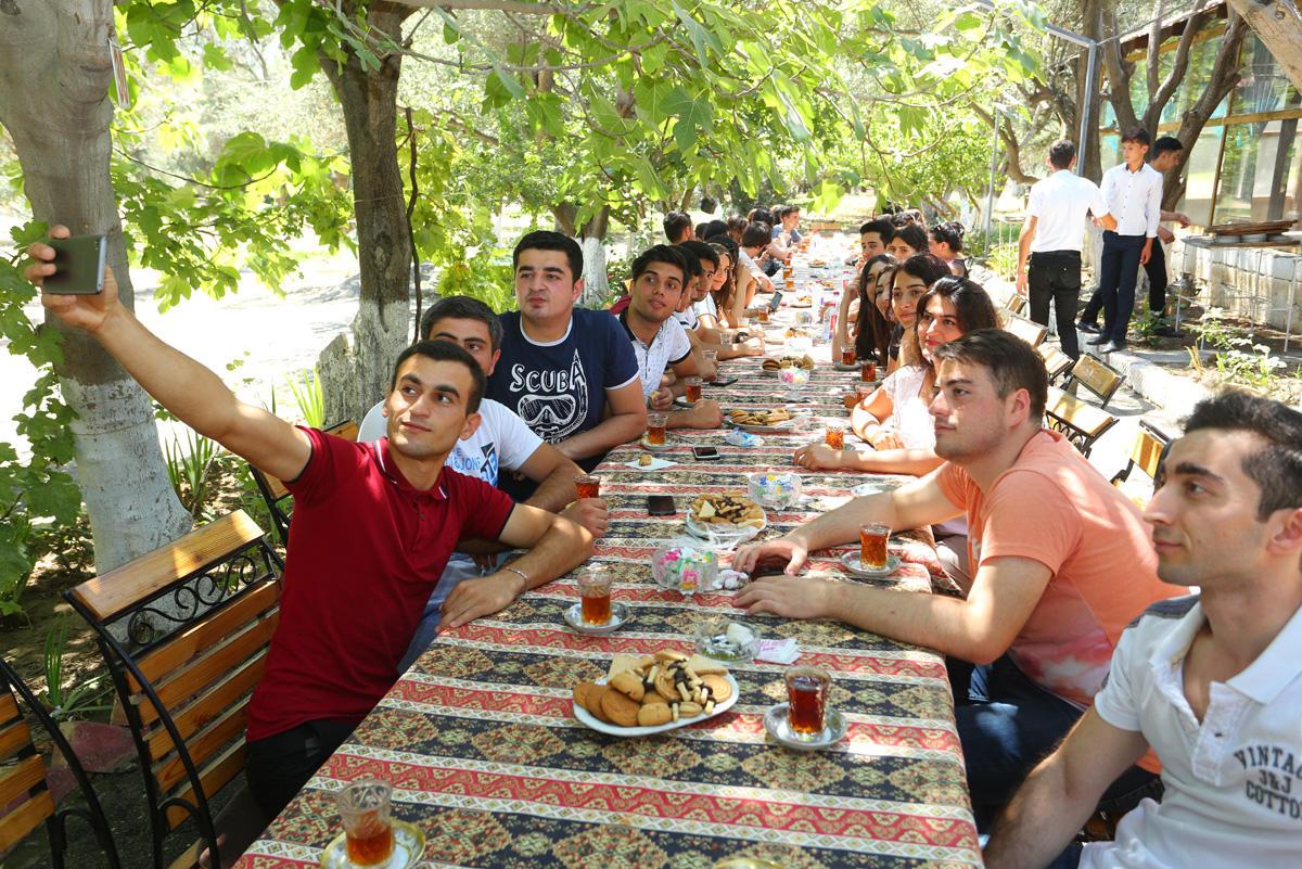 """Binəqədidə """"Gənclik həftəsi"""" layihəsinə start verilib (FOTO)"""