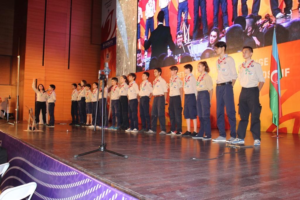 В Баку состоялось торжественное открытие 41-й Всемирной скаутской конференции (ФОТО)