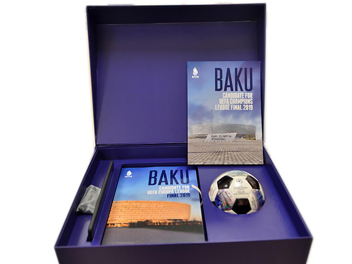 Videos about Baku screened at UEFA's Nyon headquarters
