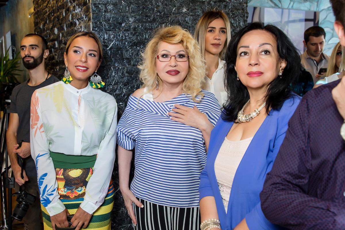 Азербайджанские звезды и Seeya благословили молодого певца покорять Европу (ФОТО)