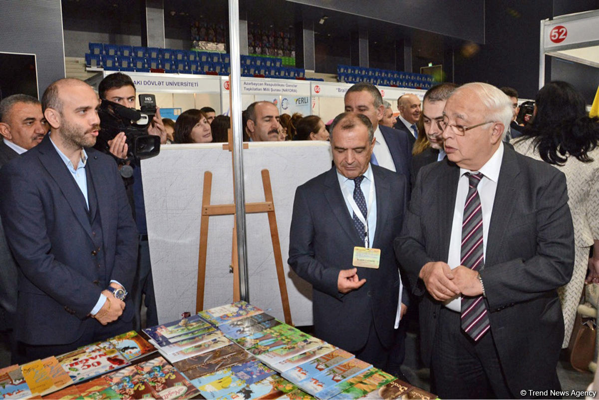 В Баку состоялось торжественное открытие V Международной книжной выставки-ярмарки (ФОТО)