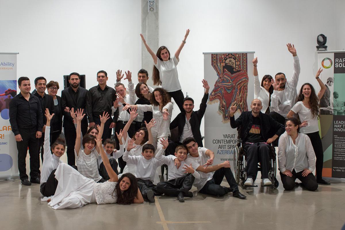 """DanceAbility – Inclusive Dance"" workshops held in Baku (PHOTO)"
