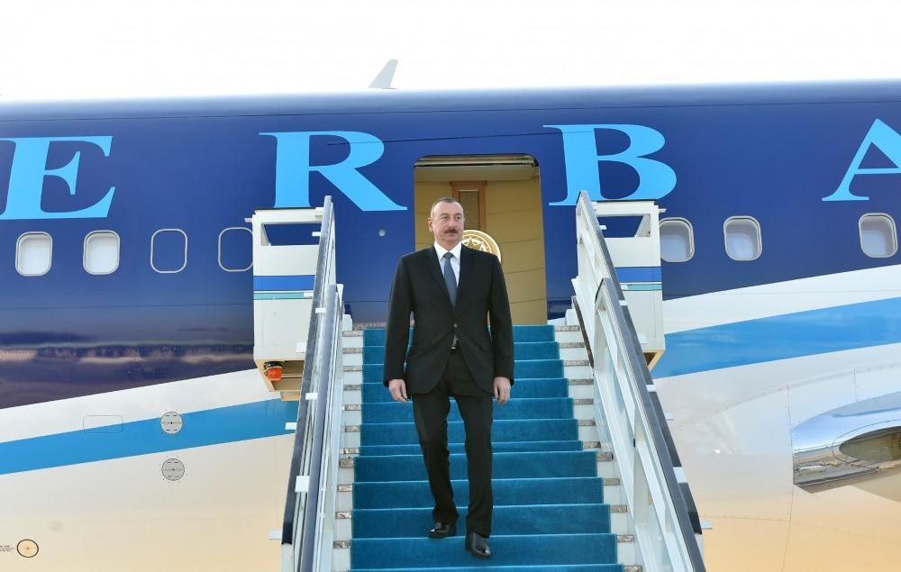 Cumhurbaşkanı İlham Aliyev Türkiye'de