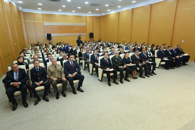 Binəqədi İcra Hakimiyyəti hesabat verdi (FOTO)