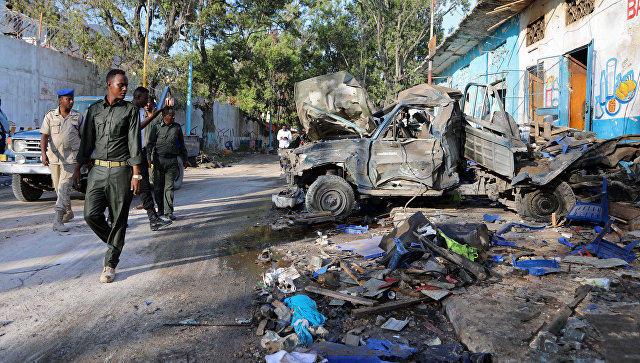 Somali minister among 5 killed in Somalia attack