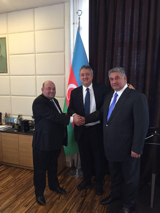 Swimming federations of Azerbaijan, Italy to co-op (PHOTO)