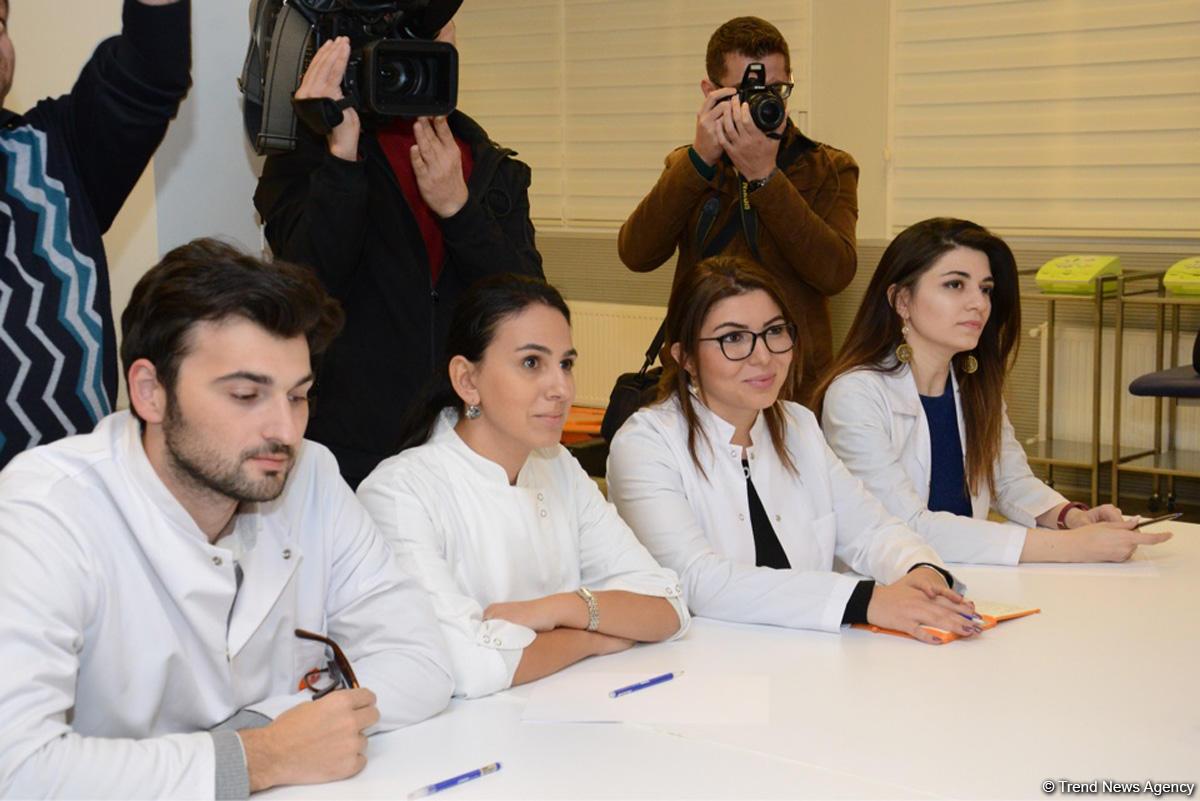 Bədən Tərbiyəsi və İdman Akademiyasında yeni magistr ixtisaslarının təqdimatı olub (FOTO)