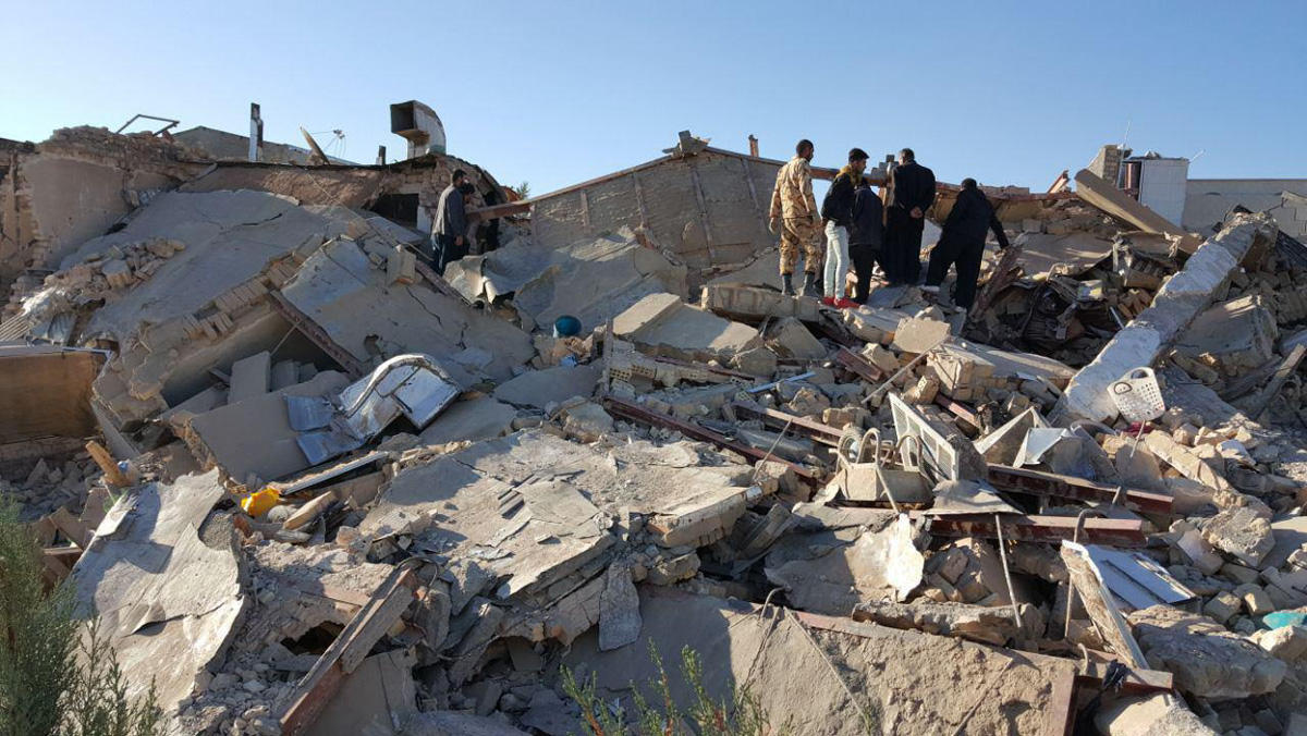 Death toll from earthquake in western Iran climbs to 440 (UPDATING) (PHOTO, VIDEO)