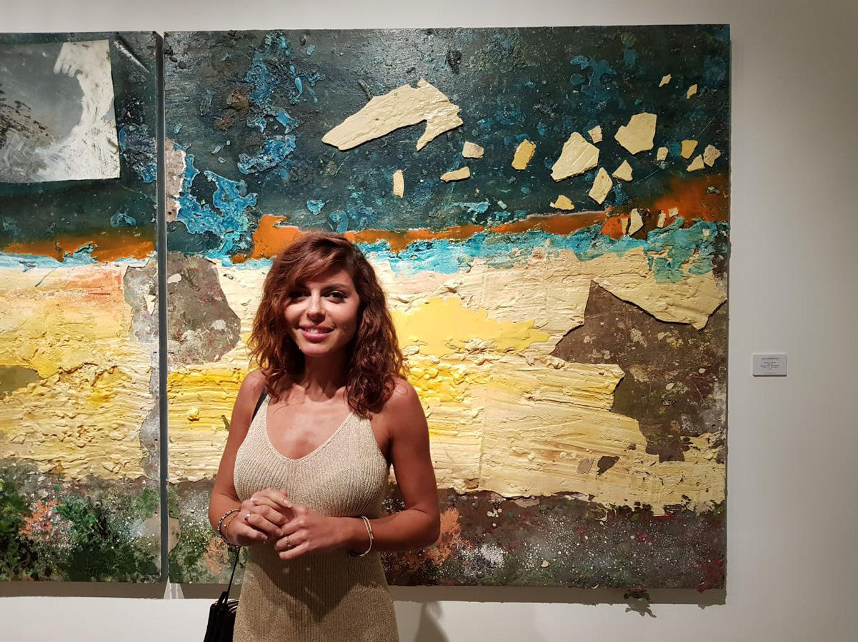 YARAT founder's solo exhibition opens in Dubai (PHOTO)