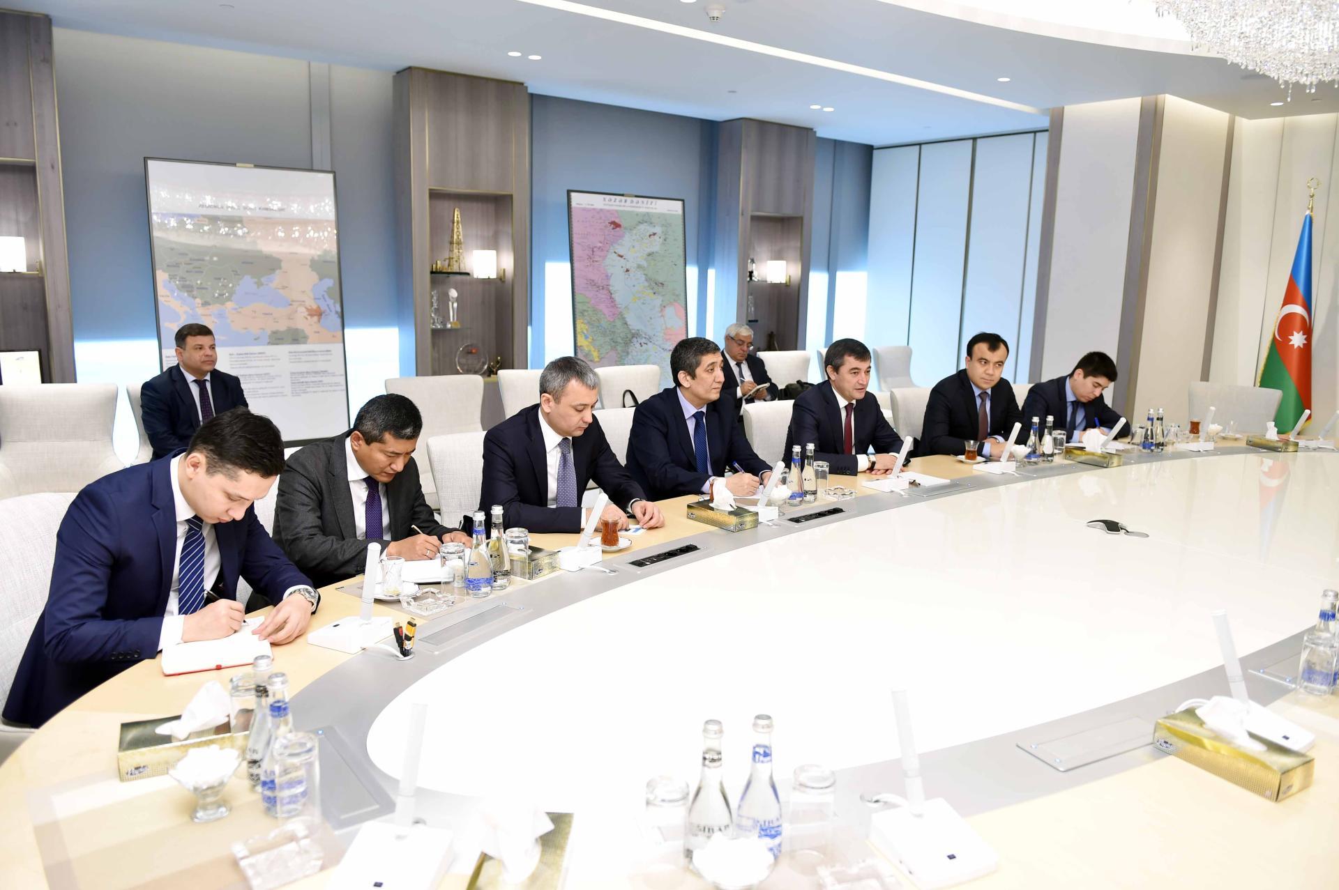 SOCAR, Uzbekneftegaz mull prospects in oil & gas projects (PHOTO)