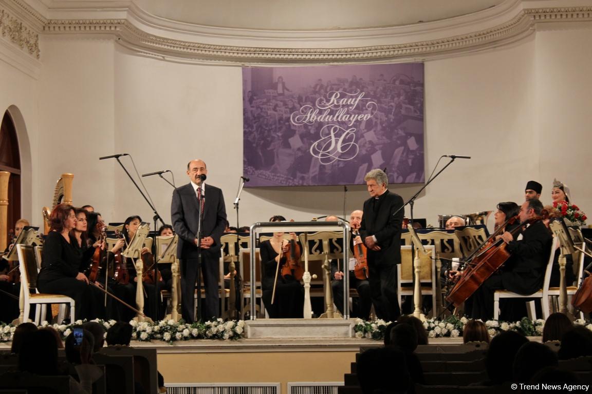 Юбилей маэстро Рауфа Абдуллаева торжественно отметил в Баку (ФОТО)