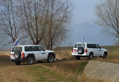 OSCE's LOC monitoring between Azerbaijani, Armenian troops ends with no incident