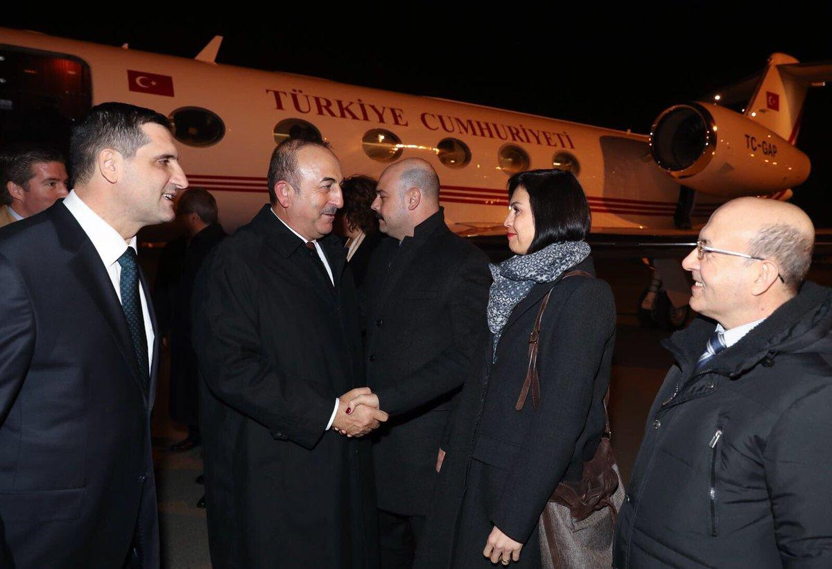 Bakan Çavuşoğlu Azerbaycan'da