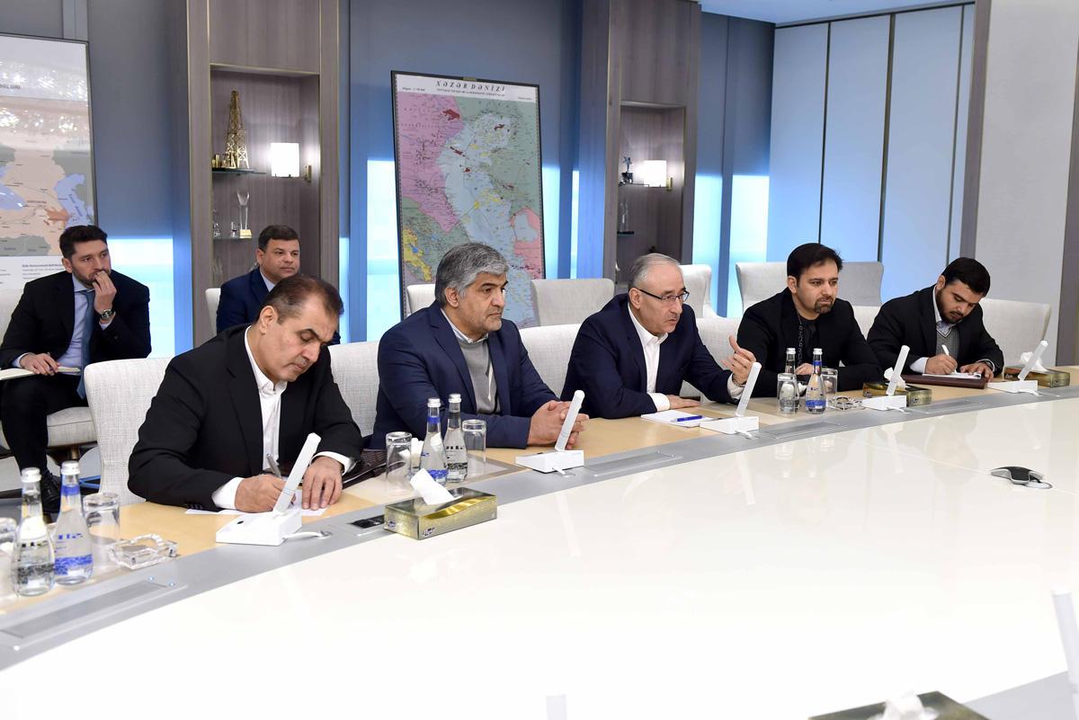 Иран предлагает SOCAR участвовать в реализуемых проектах (ФОТО)