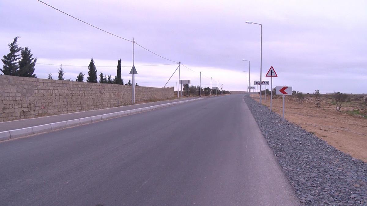 Zirə-Türkan avtomobil yolunun tikintisi yekunlaşır (FOTO/VİDEO)