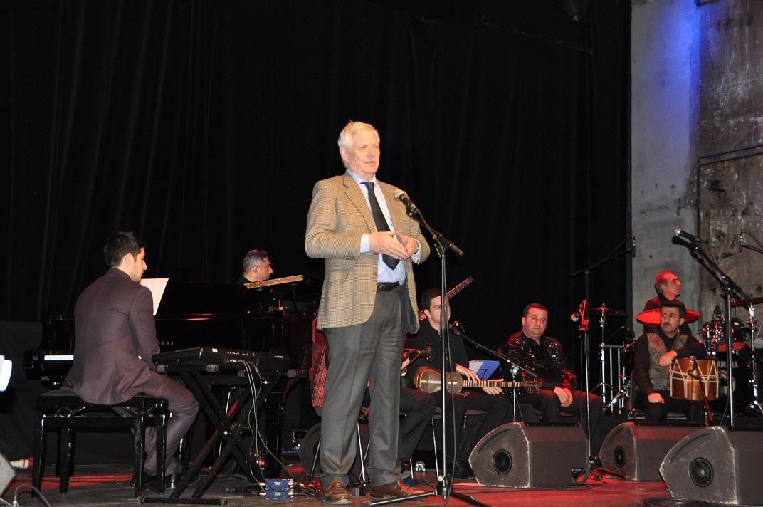 Berlində Azərbaycanın etno-caz musiqisindən ibarət konsert keçirilib (FOTO)