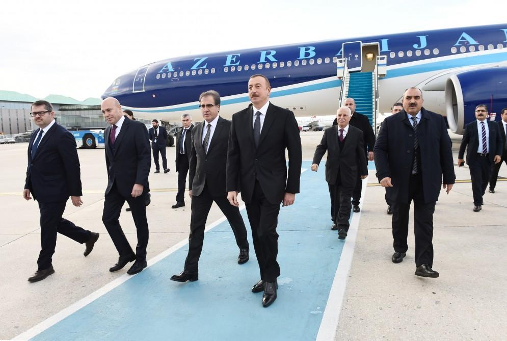 Cumhurbaşkanı İlham Aliyev, İstanbul'da