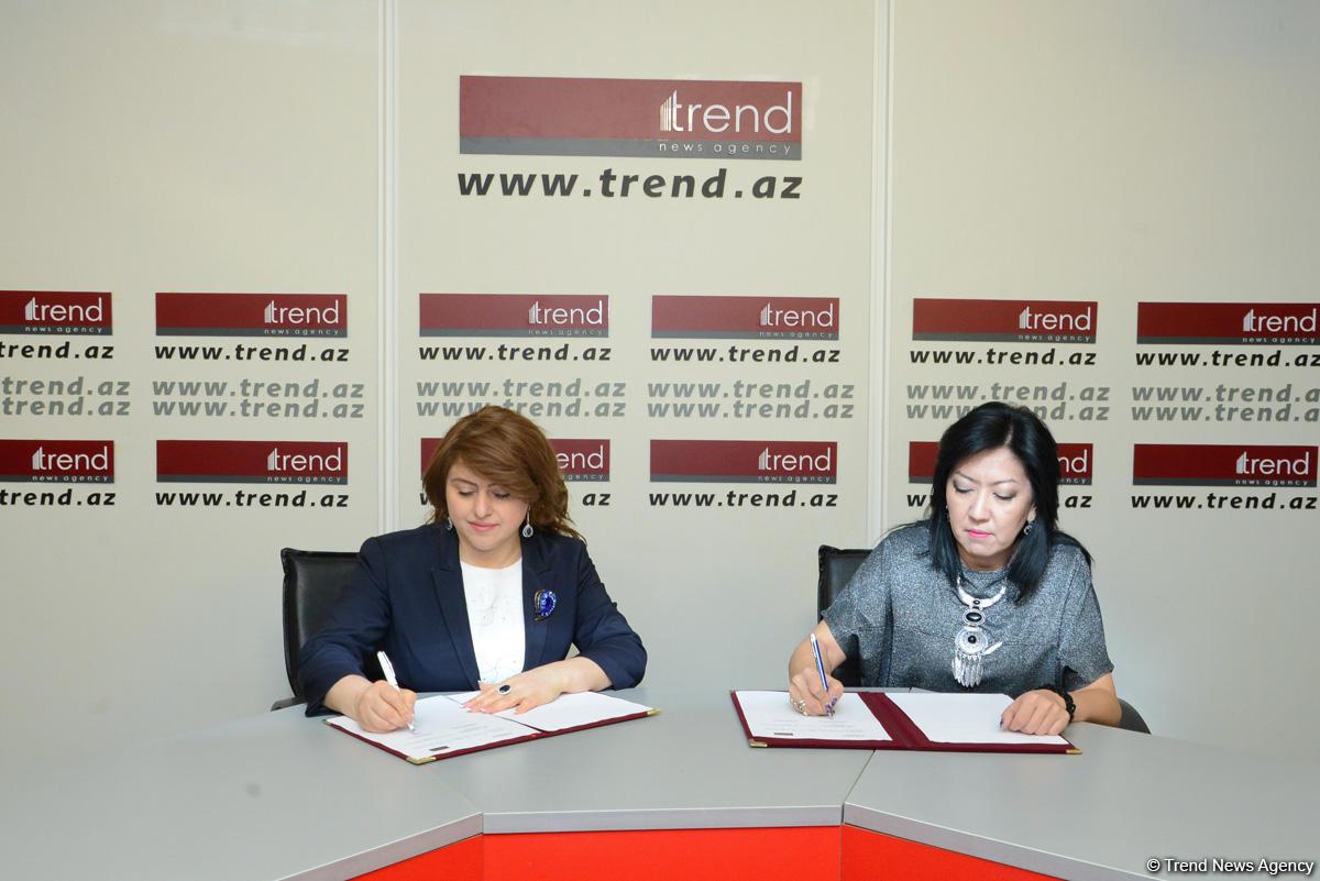АМИ Trend и Kazinform подписали новый меморандум о сотрудничестве  (ФОТО)