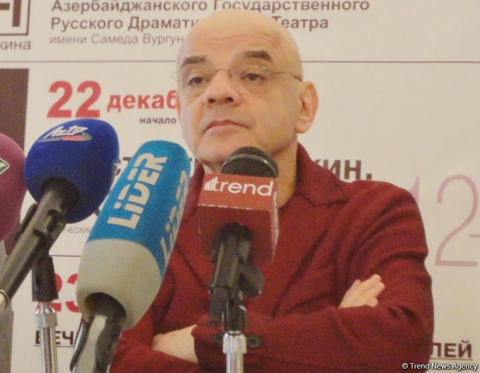 Я унаследовал любовь к Баку от своего отца - народный артист России Константин Райкин (ФОТО)