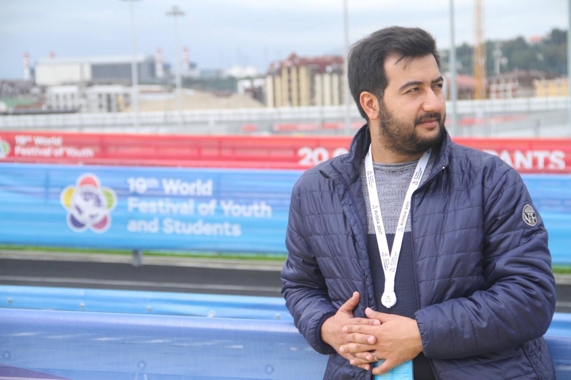 Айшад Сафарлиев: Учиться во ВГИКе – это как жить в Ичери шехер (ФОТО)