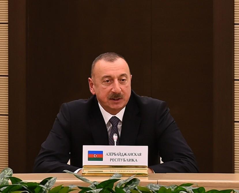 İlham Əliyev Moskvaya gedir