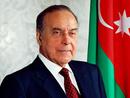 Azerbaycan Milli Lideri Haydar Aliyev'in 96. doğum günü