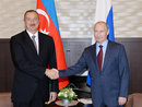 President Aliyev congratulates Russia's Vladimir Putin