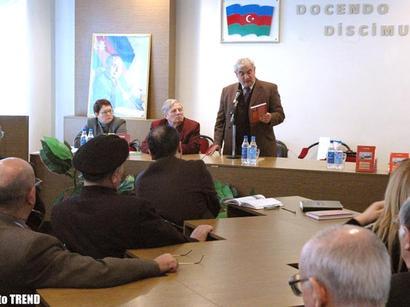 Rus tarixçisi Azərbaycanda öz kitabının təqdimatını keçirir