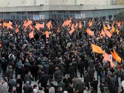 Прошел очередной митинг оппозиции