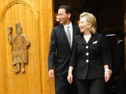 US Secretary of State Hillary Clinton has a lot of optimism about potential of Azerbaijan (UPDATE) (PHOTOS)