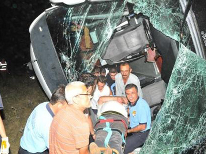 Road accident in Turkey leaves several dead, injured