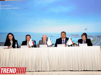 Bakıda 2015-ci ildə keçiriləcək Avropa Olimpiya Oyunlarının tarixi açıqlandı (FOTO)