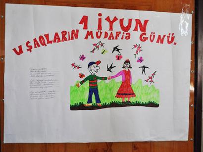Dini icmalar uşaq evini ziyarət ediblər (FOTO)