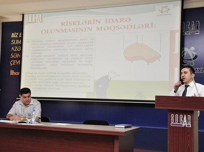 """""""Azərikimya""""da risklərin idarə olunması üzrə treninq keçirilib (FOTO)"""