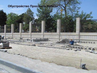 Реализация проекта Bakı Ağ Şəhər меняет облик проспекта Нобеля столицы Азербайджана (ФОТО)