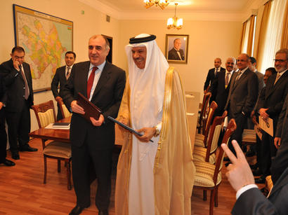 Azerbaijani Foreign Ministry and Secretariat General of Gulf Cooperation Council sign memorandum (PHOTO)